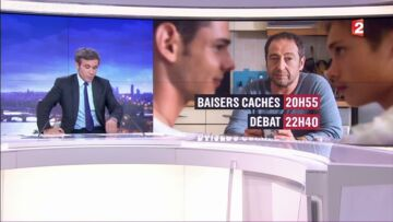 VIDEO – David Puja­das remer­cie ses télé­spec­ta­teurs pour leur fidé­lité, en direct dans le JT de France 2