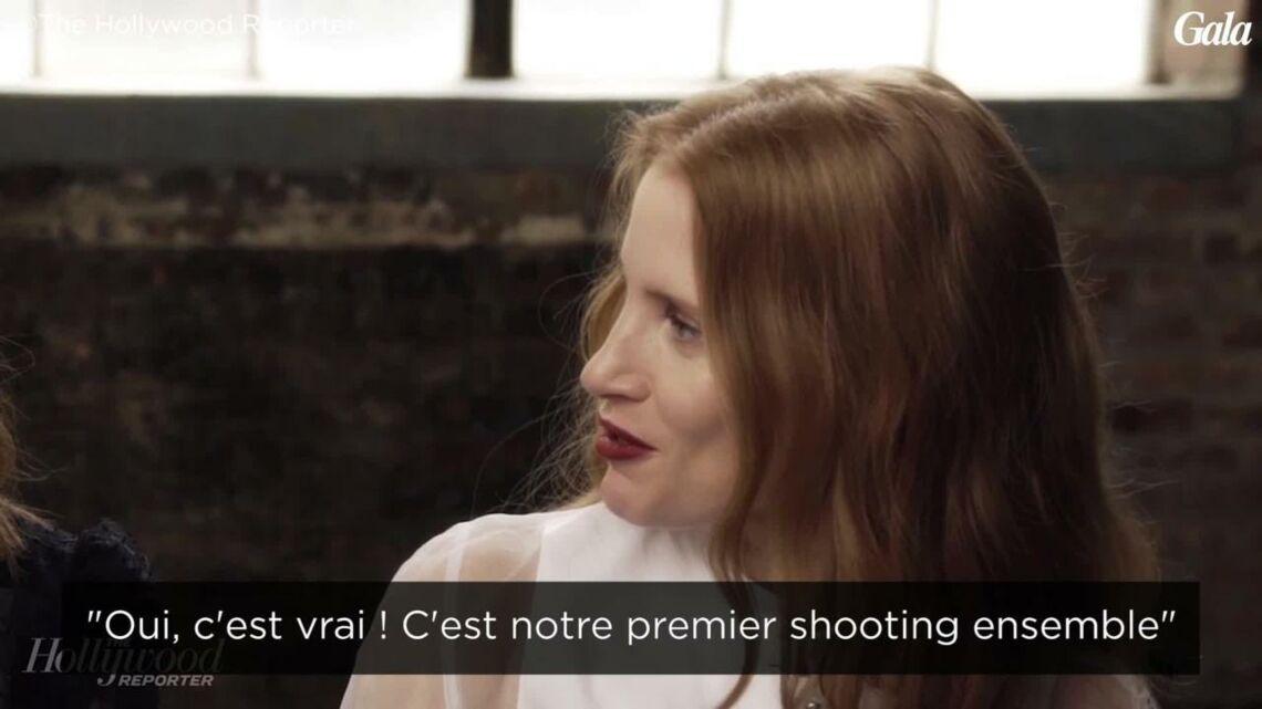 Festival de Cannes: Jessica Chastain et Isabelle Huppert s'adorent!