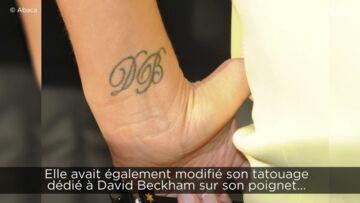 VIDEO- Victoria Beckham souffre pour ne plus être tatouée