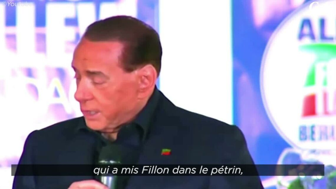 VIDEO – Brigitte Macron, la blague de trop de Silvio Berlusconi