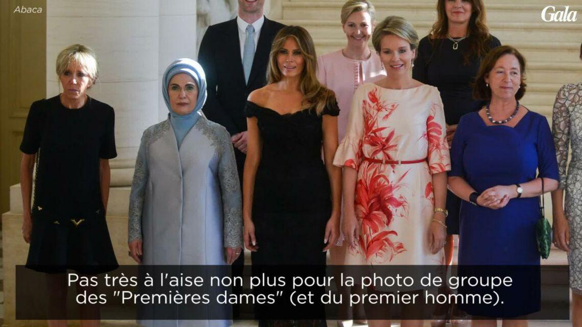 VIDEO – Brigitte Macron: une Première dame encore timide mais qui a réussi son entrée