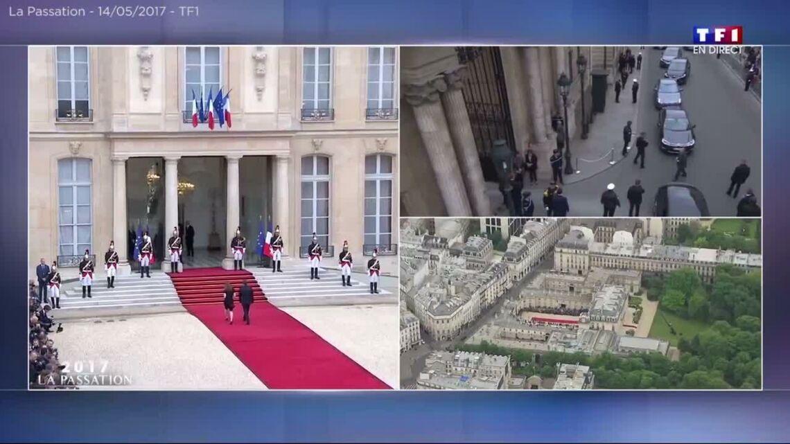 VIDEO – Sur son balcon, François Hollande jette un dernier regard vers l'Élysée