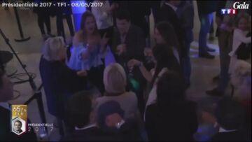 VIDEO – Malgré la défaite Marine Le Pen la «night clubbeuse» danse sur du Jean-Jacques Goldman