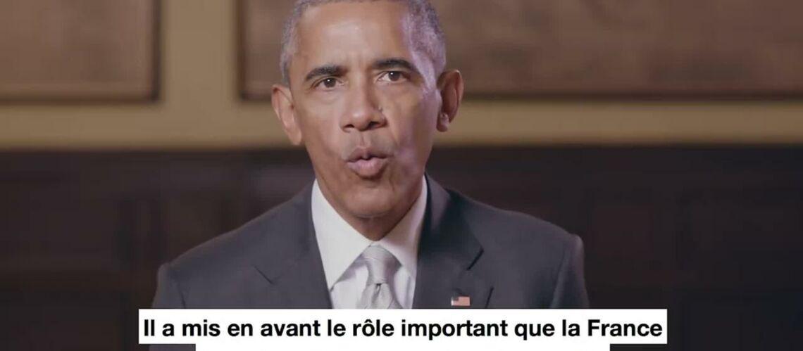 VIDEO – Emmanuel Macron reçoit un nouveau soutien… Barack Obama lui adresse un message sur les réseaux sociaux