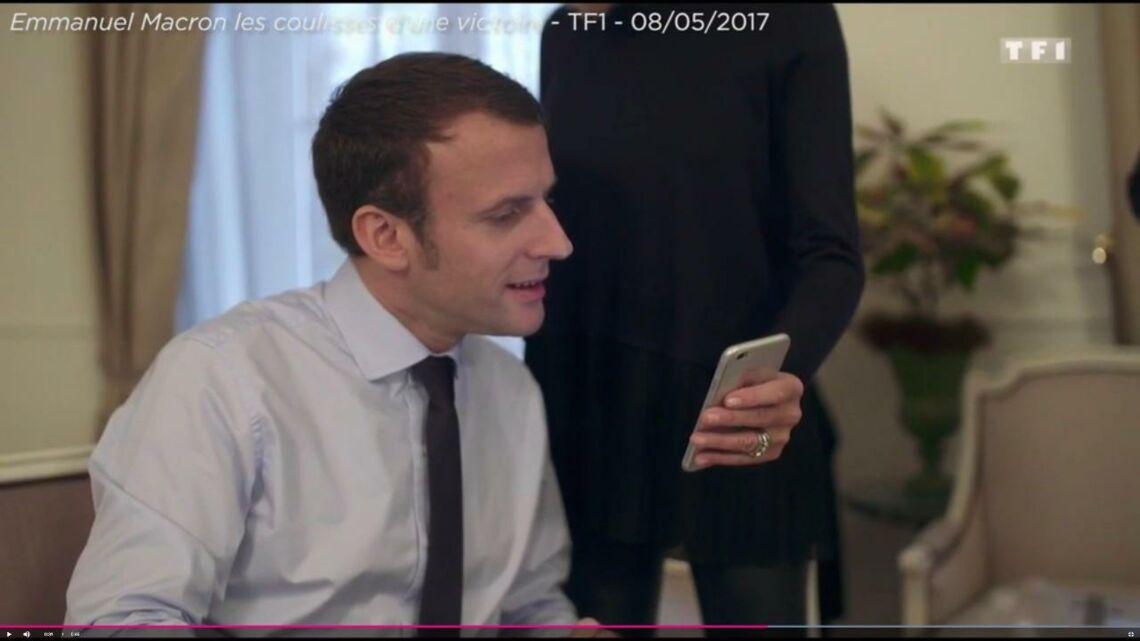 VIDEO – Emmanuel Macron, un «Daddy» très ému après le message de sa petite-fille
