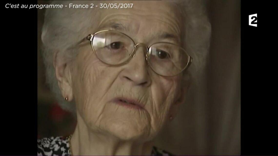 VIDEO – Mimie Mathy au bord des larmes en évoquant sa grand-mère disparue