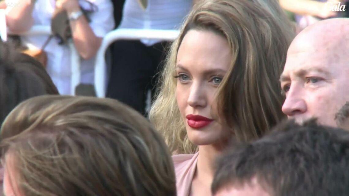 VIDEO – Pour ses enfants, Angelina Jolie se rapproche de Brad Pitt