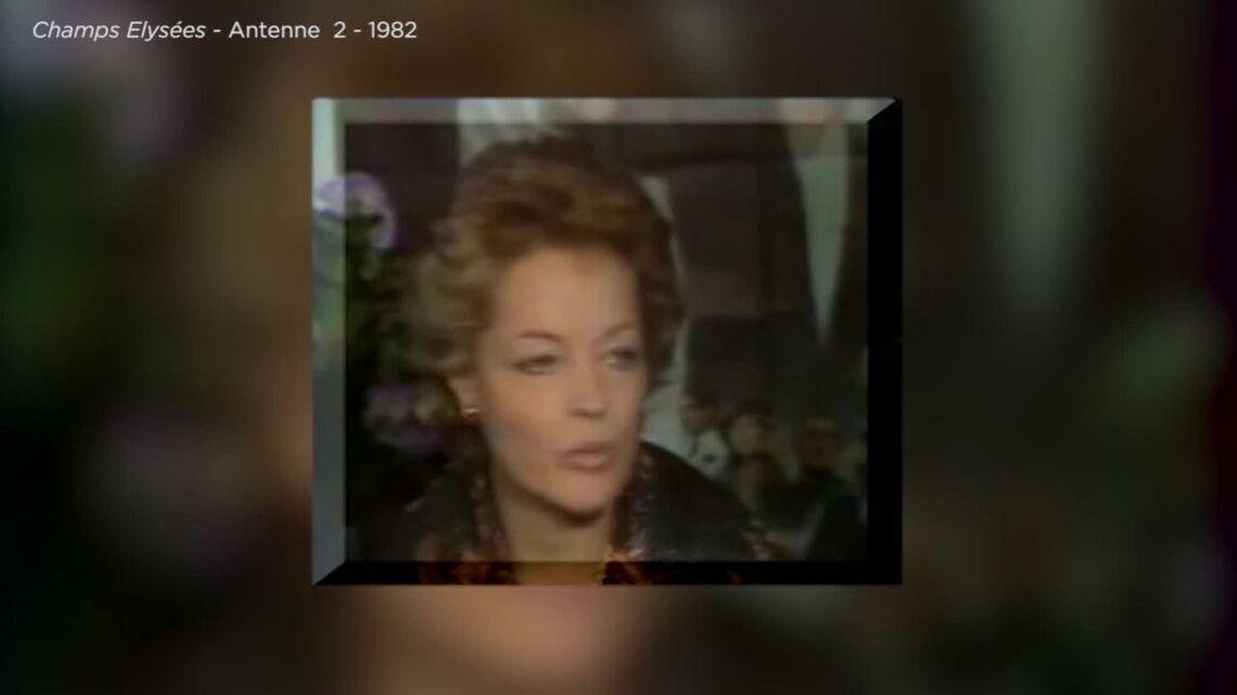 VIDEO – Romy Schneider: sa colère de mère, après la mort de son fils David