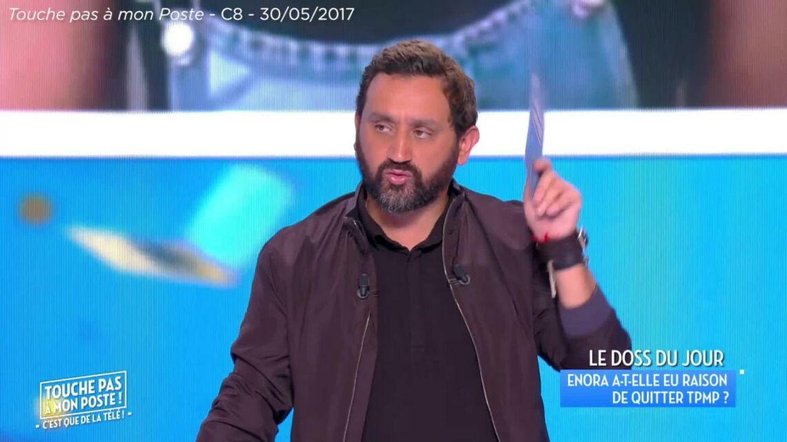 VIDEO – «Il n'y a pas de drame»: Cyril Hanouna minimise le départ d'Enora Malagré