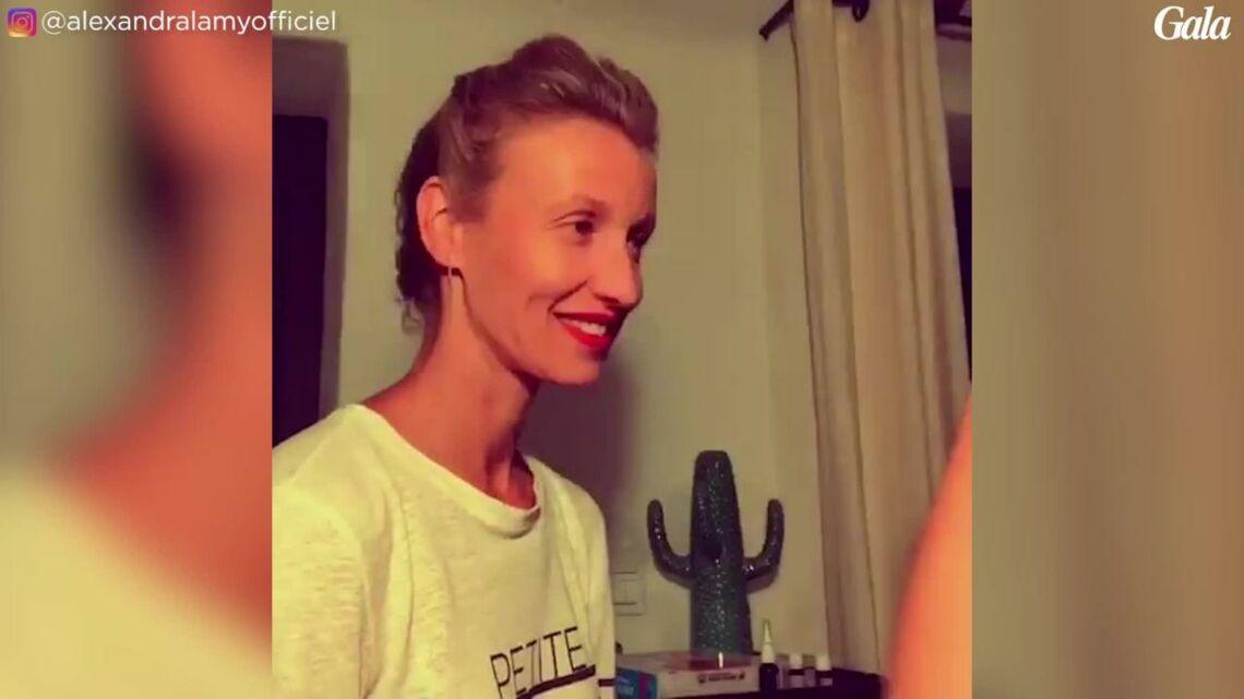 VIDEO – Instant beauté complice entre Alexandra Lamy, sa fille Chloé Jouannet, et Audrey Lamy