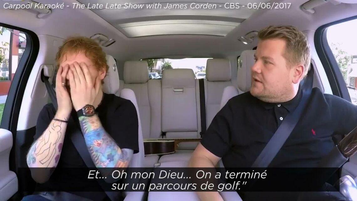 VIDEO – Le jour où Ed Sheeran a failli casser la figure de Justin Bieber