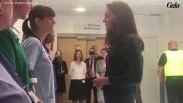 VIDEO- Kate Middleton rencontre les blessés de l'attentat de Londres
