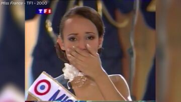 VIDEO – Miss France 2000: revivez l'émotion de Sonia Rolland lors de son couronnement