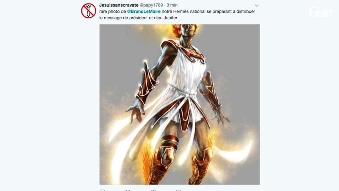 VIDEO – Bruno le Maire en fait un peu trop… en se comparant à un dieu grec au service de «Jupiter» Emmanuel Macron