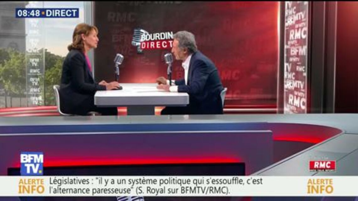 VIDEO – Ségolène Royal toujours dépitée de ne pas être dans le gouvernement d'Emmanuel Macron lui fait un appel du pied
