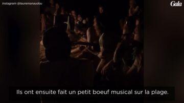 VIDEO – Laure Manaudou, une future maman première fan de son amoureux Jérémy Frérot