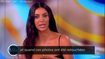 VIDEO – Kim Kardashian réagit à la polémique et nie avoir de la cellulite sur les fesses
