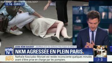 VIDEO – Nathalie Kosciusko-Morizet hospitalisée après son agression