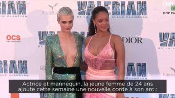 VIDEO – Cara Delevingne: d'abord mannequin, puis actrice, elle est désormais chanteuse