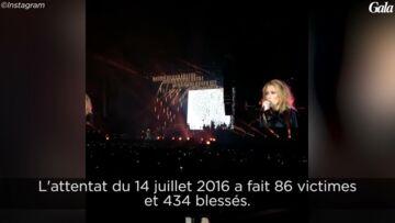 VIDEO – Céline Dion rend hommage aux victimes de Nice