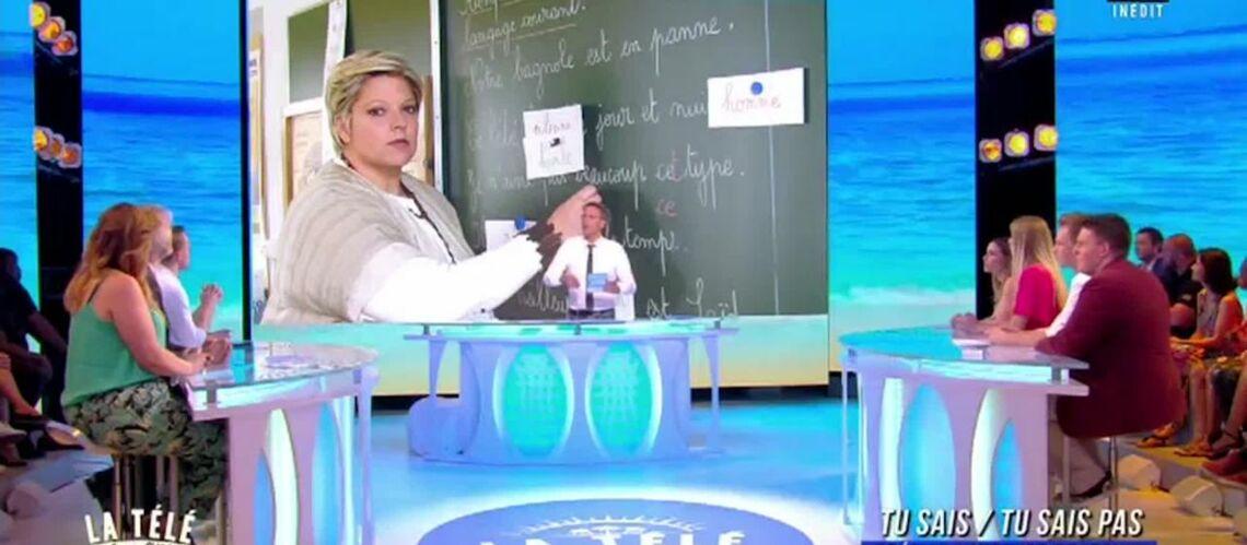 VIDEO – Laurence Boccolini dézinguée par Gilles Verdez, sa réponse vaut le détour