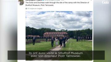 VIDEO- Kate et William, très émus après leur visite d'un camp de concentration en Pologne