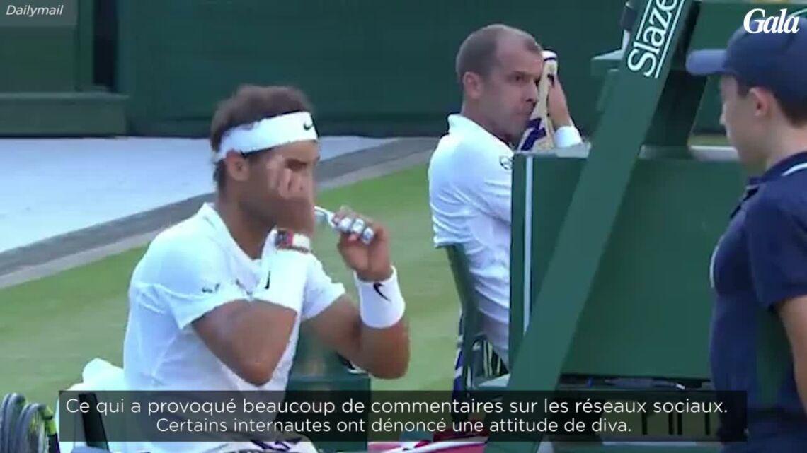 VIDEO – Rafael Nadal laisse un ramasseur de balles mettre un déchet à la poubelle à sa place et s'attire les foudres des internautes
