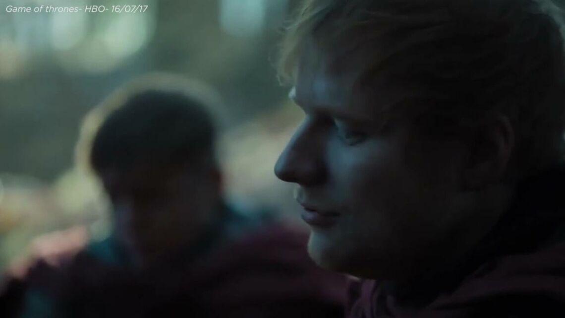 VIDEO- Game of Thrones: Découvrez Ed Sheeran en chevalier chez les Lannister