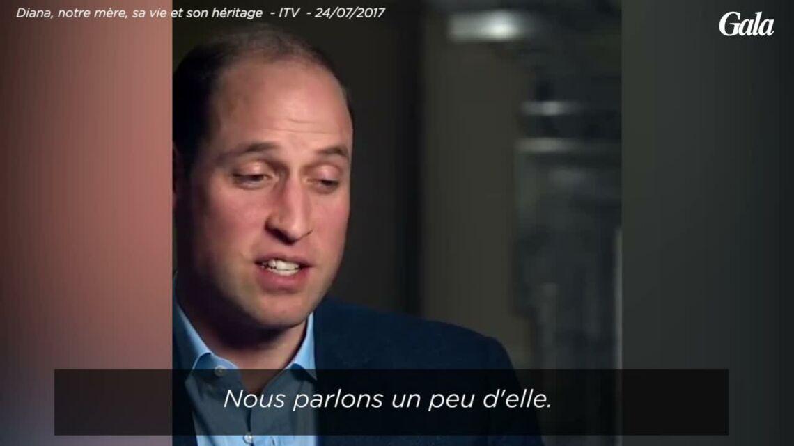 VIDEO – Le prince William très ému évoque la grand-mère qu'aurait été Diana pour George et Charlotte