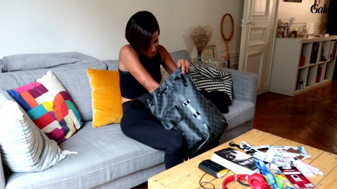 VIDEO – Shy'm vide son sac