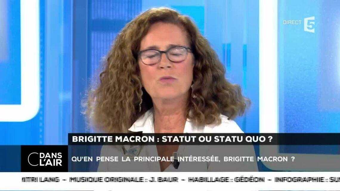 VIDEO – Brigitte Macron gênée par la polémique? Elle ne veut pas porter préjudice à son mari