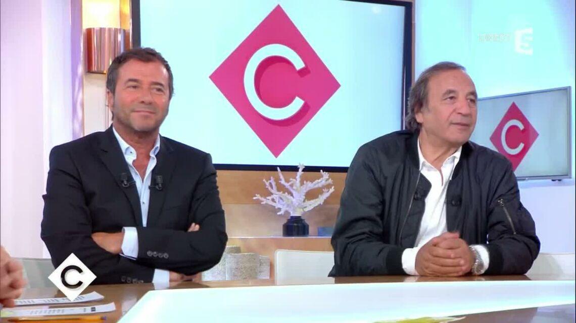 """VIDEO – """"On est très inquiets pour Pascal le mari de Mireille Darc"""": le message émouvant de Bernard Montiel dans C à vous"""