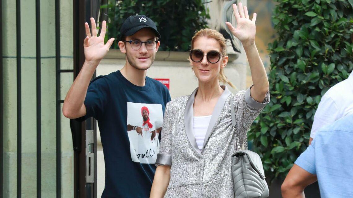 VIDEO – Céline Dion en supportrice délurée pour le match de hockey de son fils René-Charles