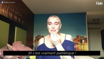 VIDEO – Sinead O'Connor particulièrement affaiblie et déprimée, publie une troublante vidéo sur Facebook
