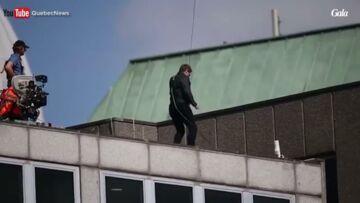 VIDEO – Tom Cruise blessé lors d'une cascade sur le tournage de Mission Impossible 6
