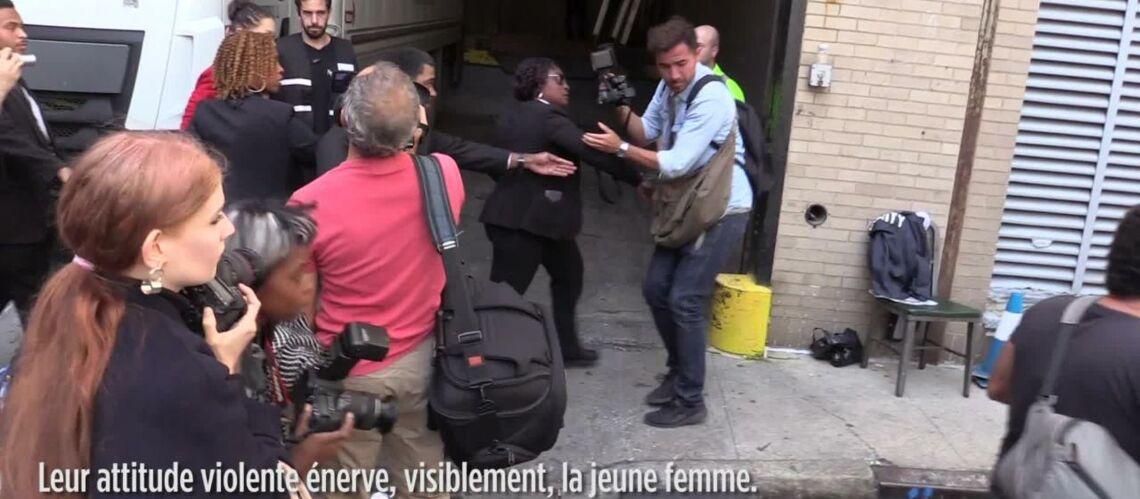 VIDEO- Bella Hadid, s'en prend violemment à l'un de ses garde du corps