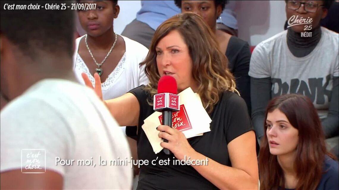 """VIDEO – Evelyne Thomas remet à sa place un invité sexiste de """"C'est mon choix"""""""