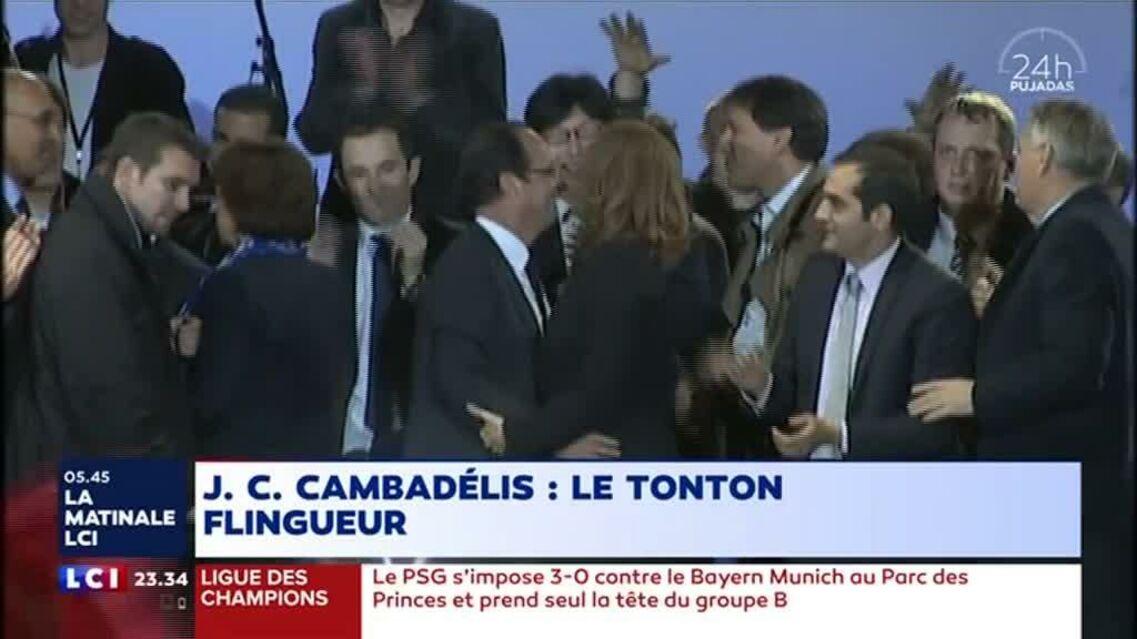 """VIDEO – François Hollande incapable de dire non à Valérie Trierweiler: son """"embrasse-moi sur la bouche"""" ridiculisé 5 ans après"""
