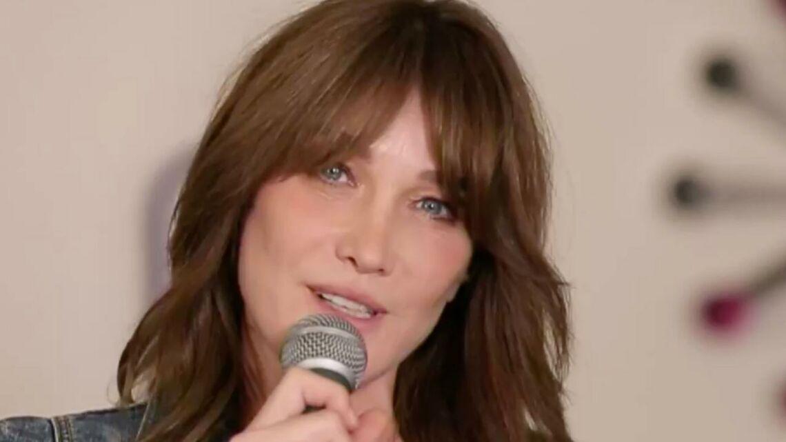 VIDEO – Carla Bruni, découvrez son étonnant secret de beauté