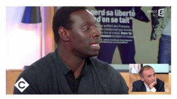 """""""C'était une bêtise"""": Anne Elisabeth Lemoine réagit face aux propos d'Omar Sy insulté par Eric Zemmour"""