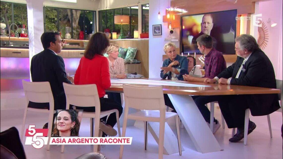 VIDEO – Affaire Weinstein: Muriel Robin réagit au témoignage glaçant d'Asia Argento