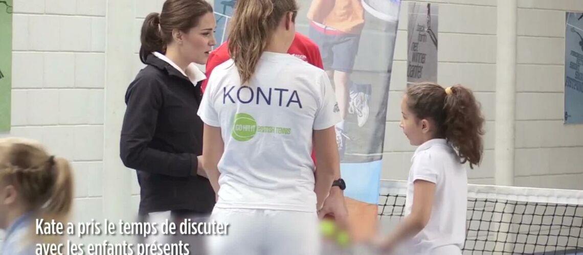 PHOTOS – Kate Middleton enceinte s'offre une nouvelle apparition publique en solo