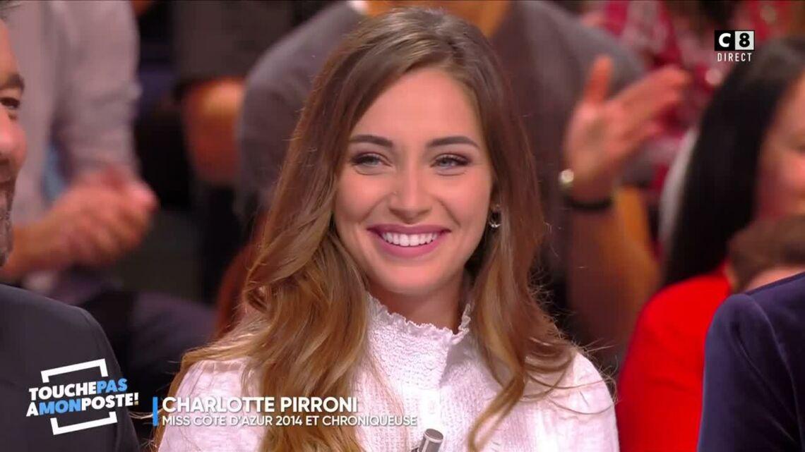 VIDÉO – L'ex-Miss Charlotte Pirroni débarque dans TPMP, les internautes sont sous le charme