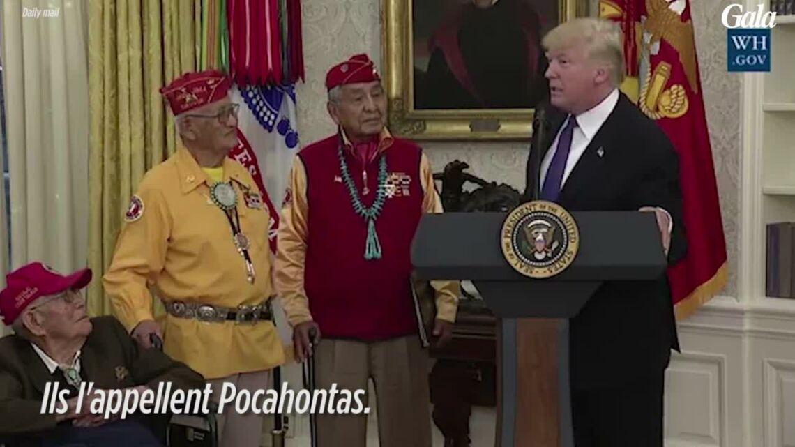 VIDEO – Quand Donald Trump croit faire une blague sur Pocahontas