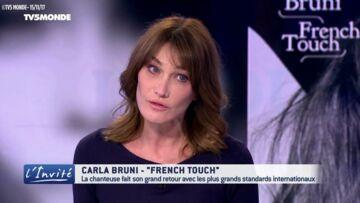 """VIDEO – Carla Bruni pense que son mari aurait pu """"être prophète"""": retour sur ses punchlines"""
