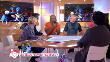 VIDEO – David Ginola gêné par un compli­ment de Teddy Riner, l'ex-foot­bal­leur rougit