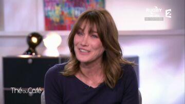 VIDEO – Carla Bruni hilare en découvrant Nicolas Sarkozy reprendre Gabrielle de Johnny Hallyday