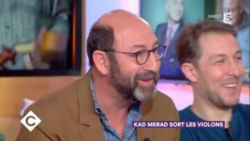 VIDEO – Kad Merad, chauve pour le film La mélodie, confondu avec François Lenglet dans un train