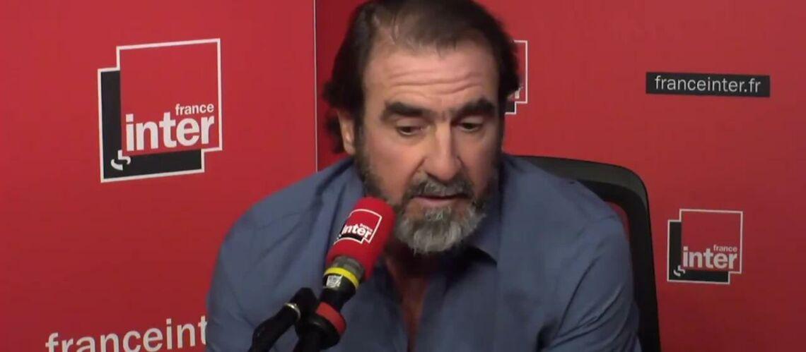 """VIDEO – """"Je ne me sens pas français"""": Eric Cantona crée la polémique au micro de Léa Salamé"""