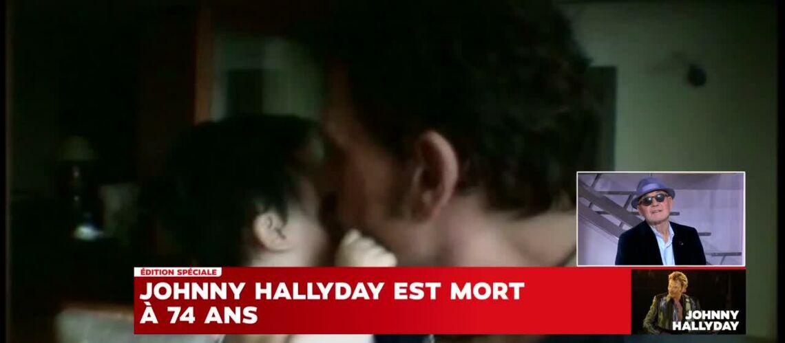 """VIDEO – """"Laeticia l'a sauvé, elle a réinventé Johnny Hallyday"""", explique son biographe Gilles Lhote"""